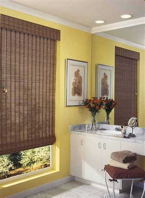 beautiful bamboo blinds  interior decorating