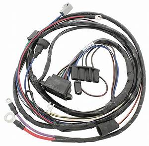 M U0026h 1967 Gto Engine Harness V8 W  Ram Air   Opgi Com