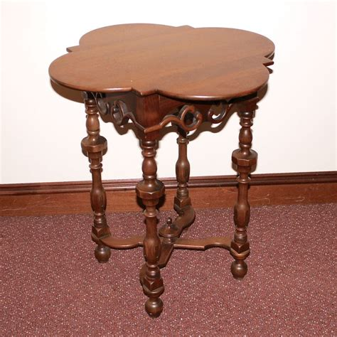 decorative side tables decorative wood side table ebth 3129