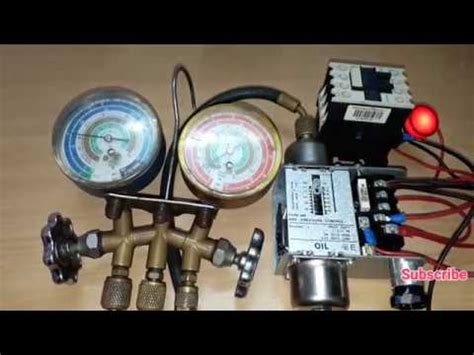 danfoss pressure switch wiring and testing