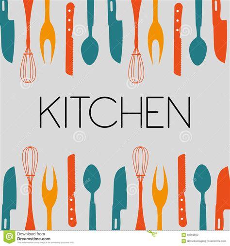outil cuisine outil de cuisine illustration de vecteur illustration du