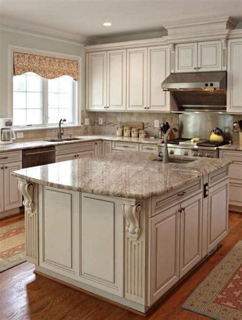 25 Antique White Kitchen Cabinets Ideas That Blow Your