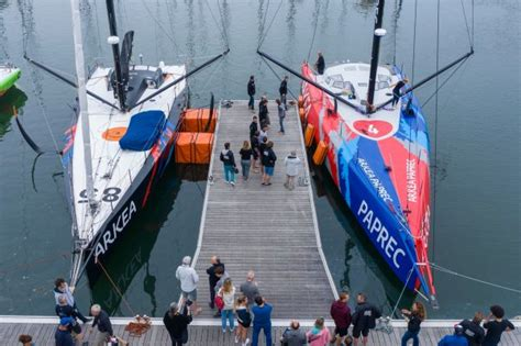 fastnet race  bumper imoca  fleet set  assemble