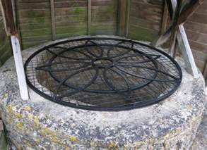 Outdoor Decorative Well Covers by Well Covers And Overthrows Ironart Of Bath