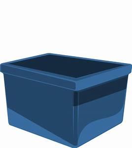 Cube Plastique Transparent : blue bin clip art at vector clip art online ~ Farleysfitness.com Idées de Décoration