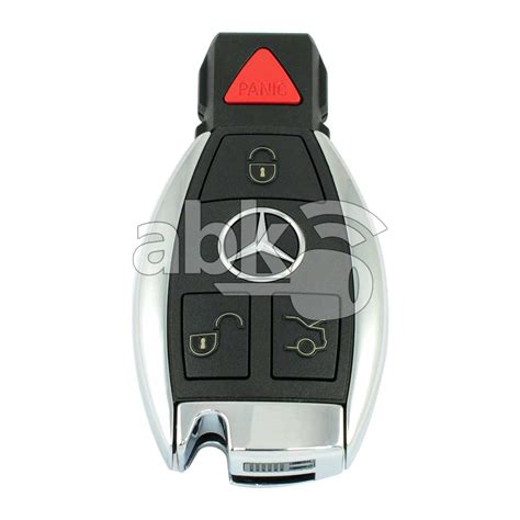 Mercedes are the best and most complicated encrypted smart key available manufactured and installed in any car world wide to stop. Mercedes Smart Key With Original Cover 3B BE Chip 315MHz |ABKEYS