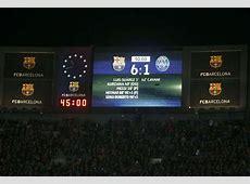 Barcelona make history with Champions League comeback
