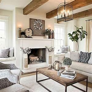 34, Modern, Farmhouse, Fireplace, Ideas
