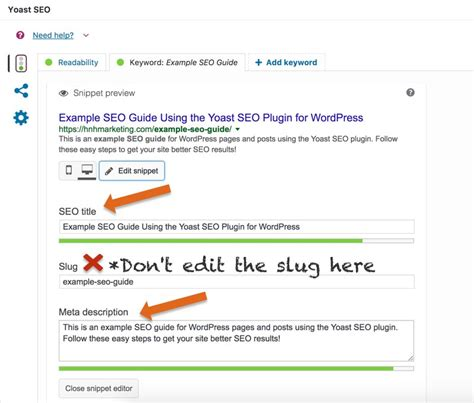 Seo Guide by Seo Guide Using The Yoast Seo Plugin For