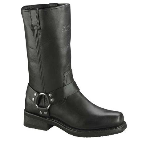harley boots harley davidson mens hustin 11 inch pull on harness