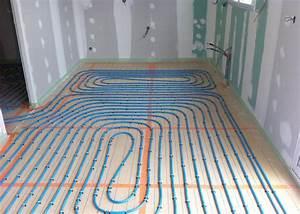 Chauffage A Eau : installation chauffage au sol a eau ~ Edinachiropracticcenter.com Idées de Décoration