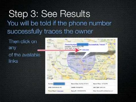 how to find out who a phone number belongs to how to find out anyones address from their phone number