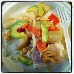 Puerto Rican bianda con bacalao   Puertorican food   Pinterest