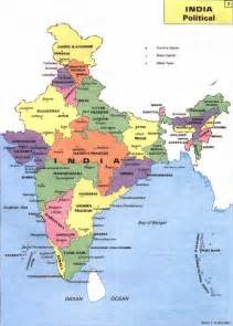 India Map Political Outline