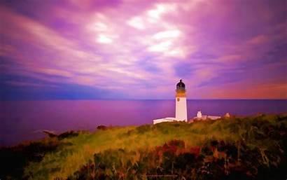 Lighthouse Wallpapers Scotland Desktop Background Screensavers Autumn