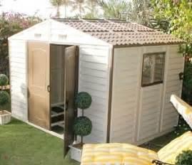 duramax 10 5 x 8 woodside outdoor vinyl storage shed