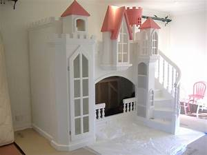 Fogel Castle Bunk Bed - Themed Beds By Tanglewood Design