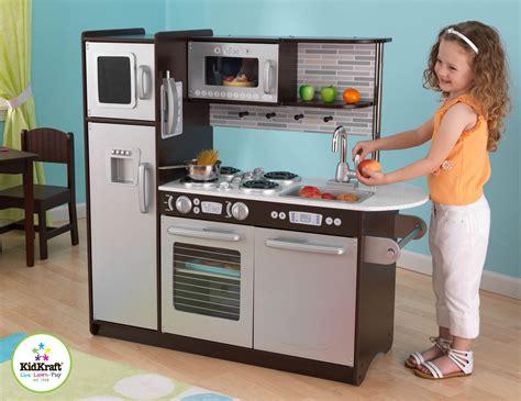 kidkraft espresso kitchen kidkraft 53260 toddler pretend play house uptown