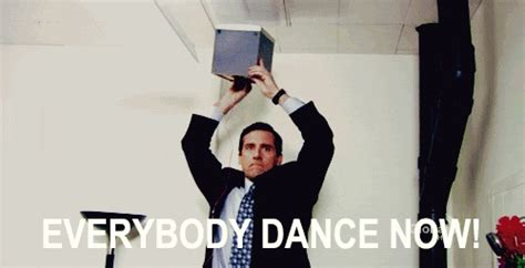 Dance Party Meme - animated gifs about the office michael scott everybody dance now meme found