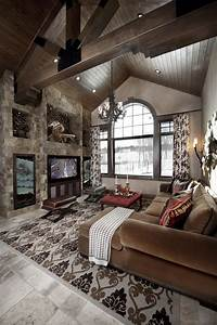 rustic design ideas canadian log homes With interior decorators colorado springs