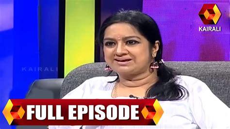 youtube actress kalpana jb junction actress kalpana part 2 26th january 2014