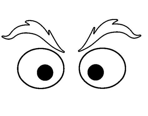 Coloring Eyebrows eyebrows coloring page coloringcrew