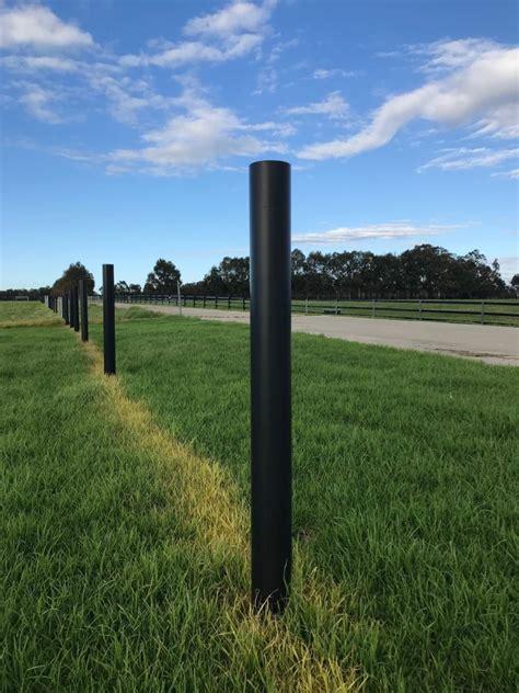 PVC Round Fencing Posts - Duncan Equine