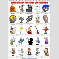 Halloween Esl Printable Worksheets And Exercises