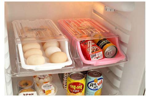Kitchen Fridge Food Egg Storage Box Case Drawer Container