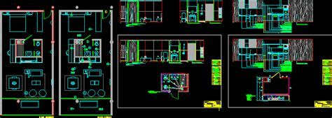 Details of Hotel Room 2D DWG Plan for AutoCAD ? Designs CAD