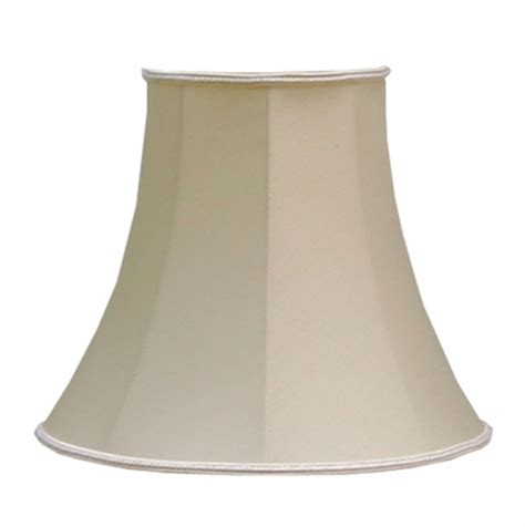 extra large empire l shades bowed empire lshade antique cream dupion imperial