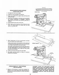 Craftsman 11323100 User Manual 10 Inch Radial Saw Manuals