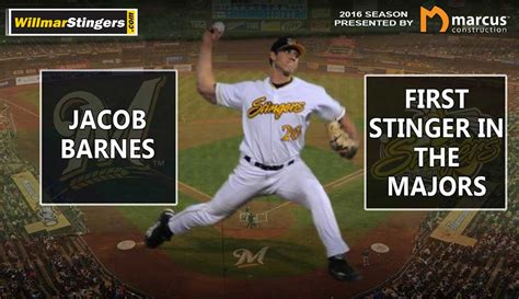 stingers pitcher jacob barnes  mlb debut