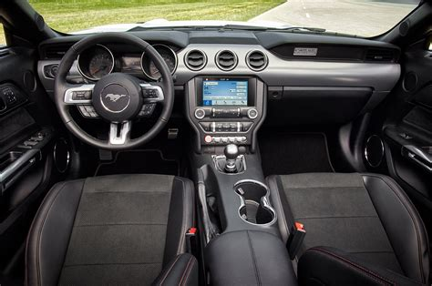 ford mustang interior photo  exclusive