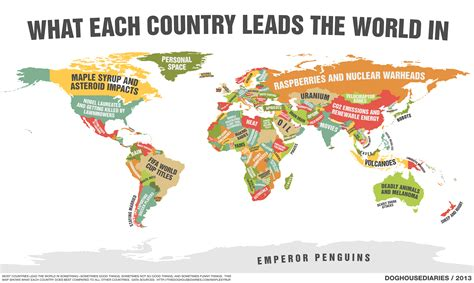 country living subscription offer map shows what each country does best ny daily