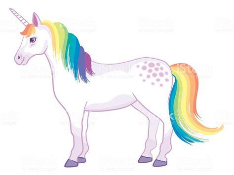Rainbow Unicorn Stock Vector Art & More Images Of Animal