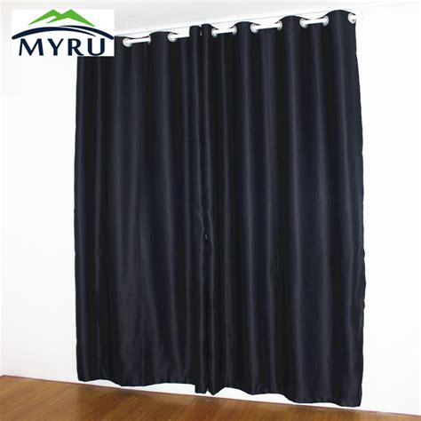 new black curtains shade thermal insulated blackout