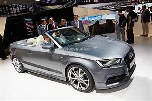 Audi Cabriolet A3 : frankfurt 2013 new audi a3 cabriolet live photos autoevolution ~ Maxctalentgroup.com Avis de Voitures