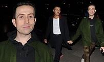 Nick Grimshaw walks hand-in-hand with his boyfriend ...