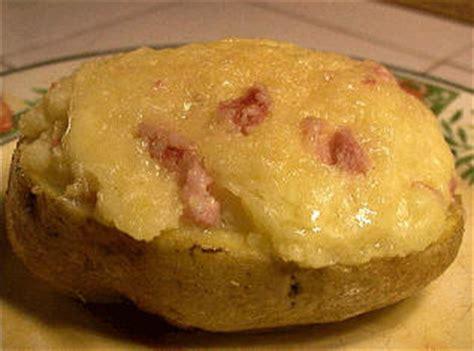 recettes l 233 gumes pommes de terre farcies au fromage et