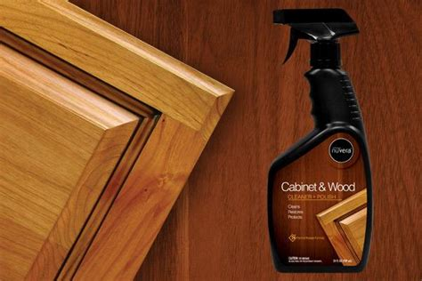 how to clean grease wood kitchen cabinets cabinet wood cleaner nuvera 9711