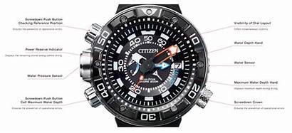 Citizen 05e Promaster Impression Depth Segment Wrist
