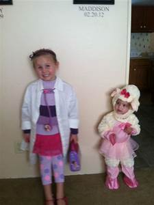 Doc Mcstuffins and Lambie costume | baby girl | Pinterest ...