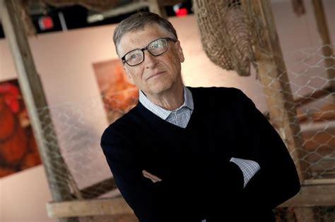 Billionaire philanthropist and Microsoft's co-founder Bill ...