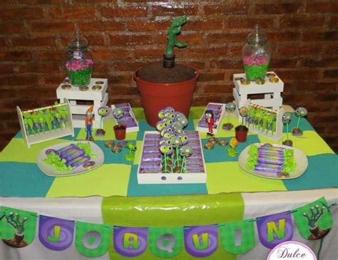 plants vs zombies fiestas muyameno fiestas infantiles decoraci 243 n plantas vs plants vs
