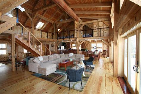 barn home interior