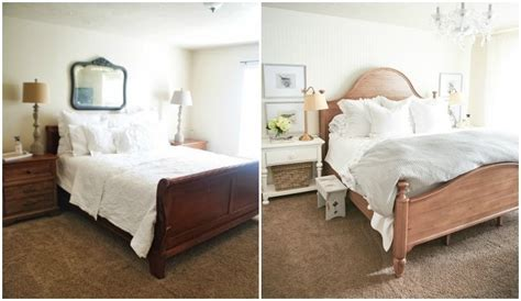 master bedroom reveal   bed ella claire