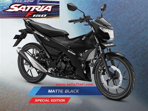 warna  suzuki   satria   matte black
