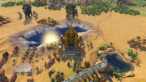 Civilization Vi Homes In On Sea With Khmer And Indonesia