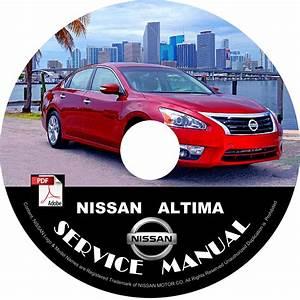 2015 Nissan Altima Service Repair Shop Manual On Cd